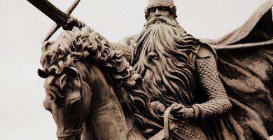 Estatua del Cid Campeador en Burgos